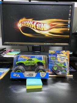 Hot Wheels 2017  Monster Jam Truck 1:24 Scale Gas Monkey Gar