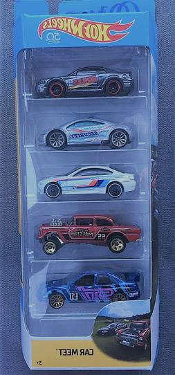 Hot Wheels 2017 Muscle Mania 1:64 Scale 5-Pack