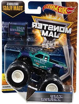 Monster Jam 2017 Hot Wheels 1:64 Scale Truck with Team Flag