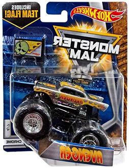 2017 Hot Wheels Monster Jam 1:64 Scale with Team Flag - Aven