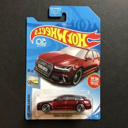 2018 Hot Wheels 17 Audi RS 6 Avant Super Treasure Hunt Dieca