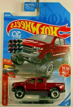 2018 Hot Wheels 19 Chevy Silverado Trail Boss LT HW Hot Truc