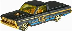 2018 Hot Wheels 50th Anniversary Black and Gold Series Car '
