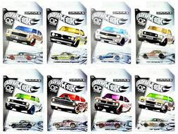 2018 Hot Wheels 50th Anniversary ZAMAC Set of all 8 Cars Wal