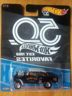 2018 Hot Wheels 50th Favorites Kroger BLACK GASSER '55 Chevy