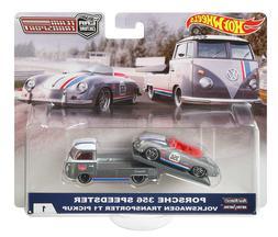 2018 Hot Wheels Car Culture Team Transport Porsche & VW T1 T