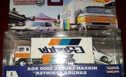 HOT WHEELS 2018 CAR CULTURE TRANSPORT #2 NISSAN LAUREL 2000