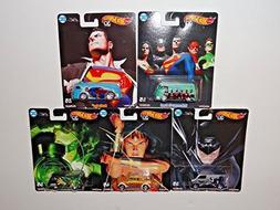 Hot Wheels Pop Culture 2018 Alex Ross DC Heroes Series Premi