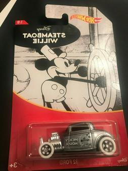 Hot Wheels 2018 Disney Mickey Mouse Series #1 Steamboat Will