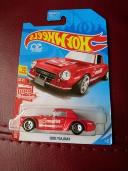 Hot Wheels 2018 Fairlady 2000 Red *Target Exclusive*Red Edit