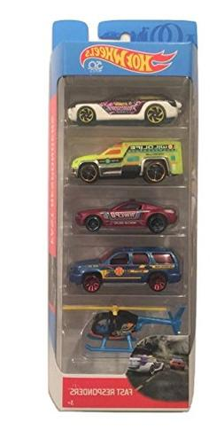 Hot Wheels 2018 50th Anniversary Fast Responders 1:64 Scale
