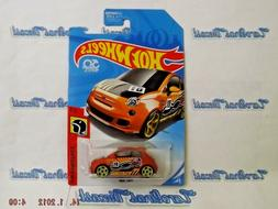 Hot Wheels 2018 Fiat 500 Daredevils Race Car Rare New 50 Yea