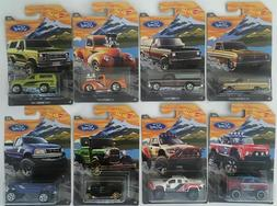 Hot Wheels 2018 Ford Truck Series - Walmart Exclusive - Comp