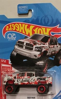 """2018 Hot Wheels Red Edition Ram 1500  """"Target Exclusive"""""""
