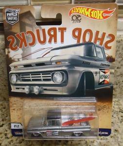 2018 Hot Wheels Shop Trucks Car Culture Custom '62 Chevy Pic