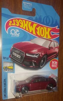 2018 Hot Wheels Super Treasure Hunt 17 Audi RS 6 Avant