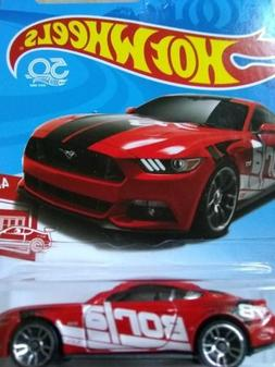2018 HOT WHEELS Target Ex. -- RED EDITION -- 2015 FORD MUSTA