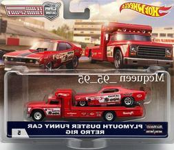 HOT WHEELS 2018 TEAM TRANSPORT CAR CULTURE PLYMOUTH DUSTER F