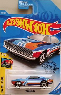 2019 Hot Wheels '67 Camaro Regular Treasure Hunt Q Case NIB