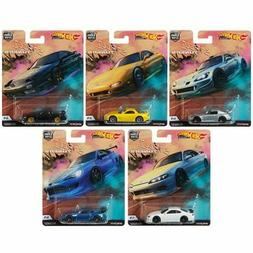 Hot Wheels 2019 Car Culture Street Tuners Series Set of 5 Ca