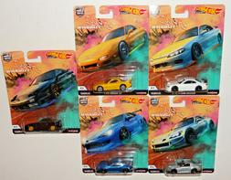 HOT WHEELS 2019 CAR CULTURE STREET TUNERS - SET OF 5 FPY86-9