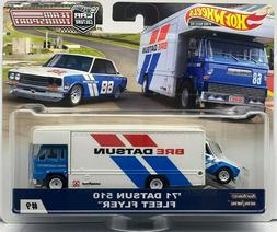 2019 Hot Wheels Car Culture Team Transport '71 Datsun 510 Fl