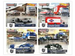 Hot Wheels 2019 Car Culture Team Transport Case F Set of 4 T