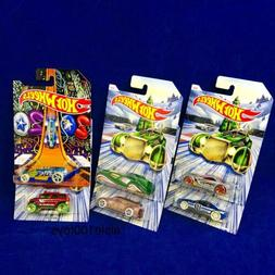 2019 Hot Wheels Christmas Holiday Series Set Of 6 Cars New Y