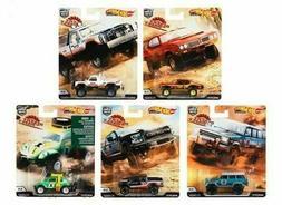 2019 desert rally set of 5 cars
