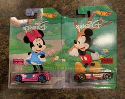 2019 Hot Wheels Disney Mickey & Friends 90 Years Mickey & Mi