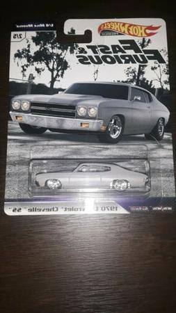 2019 HOT WHEELS FAST AND FURIOUS-1/4 MILE MUSCLE 1970 CHEVRO