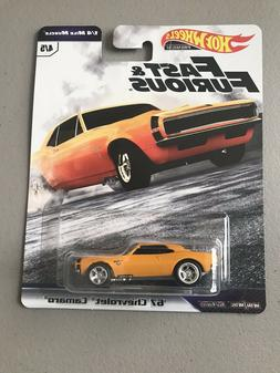 2019 Hot Wheels Fast & Furious '67 Chevrolet Camaro 1/4 Mile