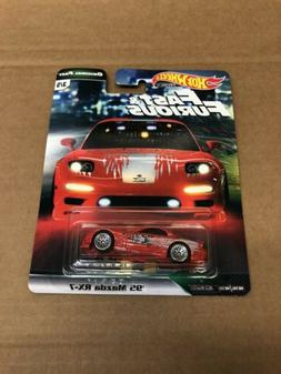 2019 HOT WHEELS FAST AND FURIOUS ORIGINAL FAST 95 MAZDA RX7