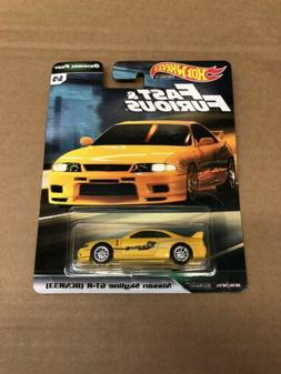 2019 HOT WHEELS FAST AND FURIOUS ORIGINAL FAST NISSAN SKYLIN