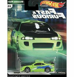 HOT WHEELS 2019 FAST & FURIOUS PREMIUM FAST IMPORT 5 CAR SET