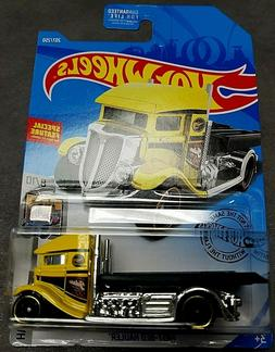 2019 HOT WHEELS FAST-BED HAULER TREASURE HUNT #207/250!!!K C