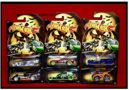 2019 Hot Wheels Halloween Set Of 6, Themed Cars Collector Se