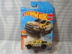 2019 HOT WHEELS ''HOT TRUCKS'' #185 = `19 FORD RANGER RAPTOR