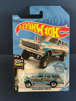 HOT WHEELS 2019 HW RACE DAY '64 NOVA WAGON GASSER CASE K WOR