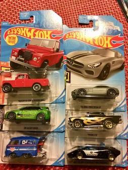 2019 HOT WHEELS Kool Kombi Ford Focus Land Rover 57 Chevy La