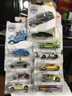 2019 Hot Wheels Larry Wood 50th Anniversary Collection Full
