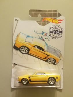 2019 Hot Wheels Larry Wood 69 Ford Mustang