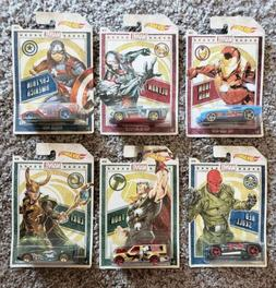 2019 Hot Wheels Marvel Avengers End Game Die Cast Cars Compl