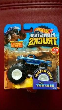 **HOT WHEELS 2019 MONSTER TRUCKS BIGFOOT 1/64 RARE TRUCK**VH