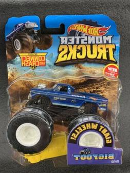 🔥HOT WHEELS 2019 MONSTER TRUCKS BIGFOOT 1/64 RARE TRUCK