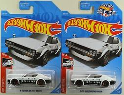"2019 Hot Wheels: NISSAN SKYLINE 2000 GT-R ""Police White"" HW"