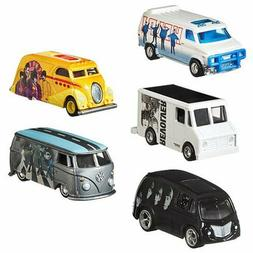 Hot Wheels 2019 Pop Culture The Beatles, 1/64 Diecast Cars,