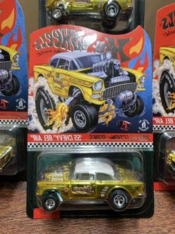HOT WHEELS 2019 RLC sELECTIONs Dirty Blonde '55 Gasser in ha