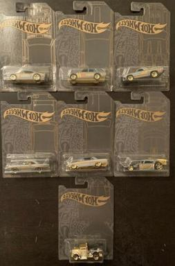 2019 Hot Wheels Satin and Chrome Series Set of 7 With Gotta