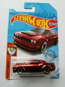 2019 Hot Wheels Super Treasure Hunt '18 Dodge Challenger SRT
